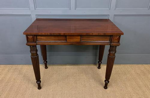 George IV Mahogany Console Table (1 of 12)
