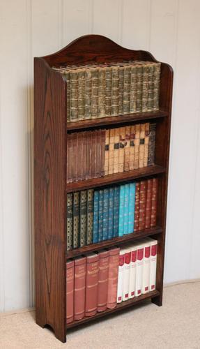 Oak Open Bookcase c.1920 (1 of 11)
