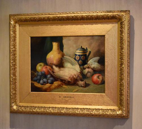 Superb still life oil painting by Richard Ansdell RA (1 of 8)