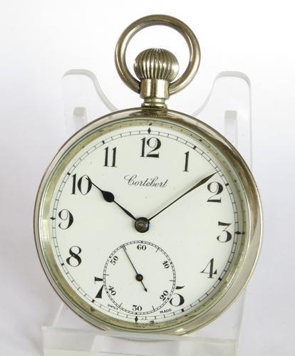 1930s Cortebert Pocket Watch (1 of 4)