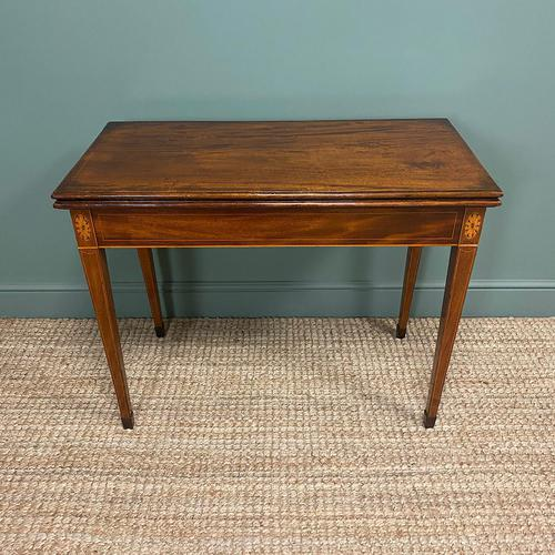 Country House Georgian Mahogany Antique Side / Tea Table (1 of 8)