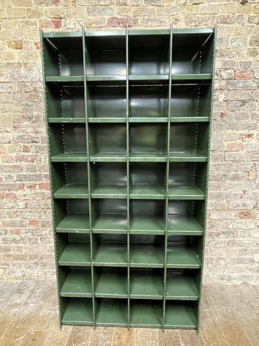 1930s Metal Racking System (1 of 4)