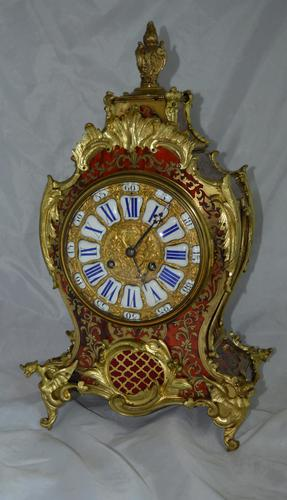 Boulle Mantel Clock Richard & Co (1 of 5)