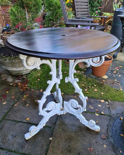 Cast-iron Patio or Conservatory Table (1 of 6)