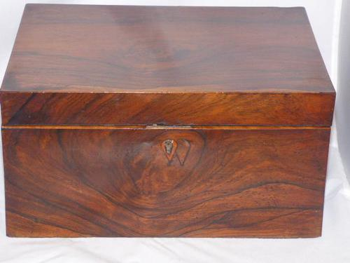 Victorian Jewellery / Stationery / Sewing Box (1 of 12)