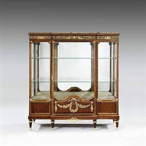 Antique Display Cabinet (1 of 2)