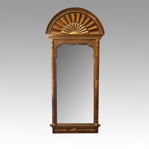 Antique Gilt Pier Mirror (1 of 10)