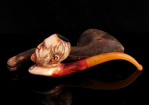 Antique Meerschaum Pipe, King Edward (1 of 12)