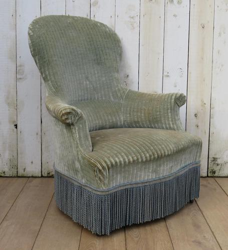 Antique Napoleon III Armchair For Re-upholstery (1 of 8)