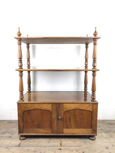 19th Century Mahogany Buffet with Cupboard Base (1 of 18)