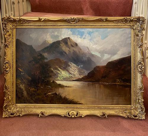 Lovely Oil on Canvas by Francis E Jamieson (1 of 3)