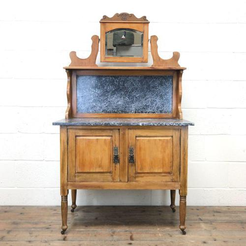 Antique Washstand with Marble Top (1 of 10)