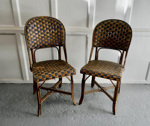 Pair of Endell Woven Cane Bentwood Chairs (1 of 6)