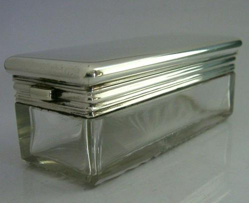 Asprey Victorian Sterling Silver Travelling Inkwell 1878 Antique Very Rare (1 of 11)
