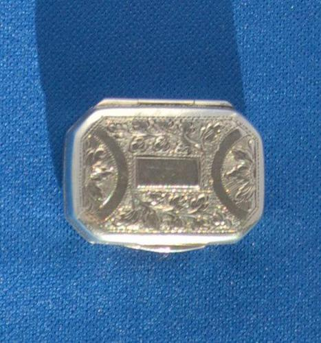 George III Silver Vinaigrette (1 of 6)