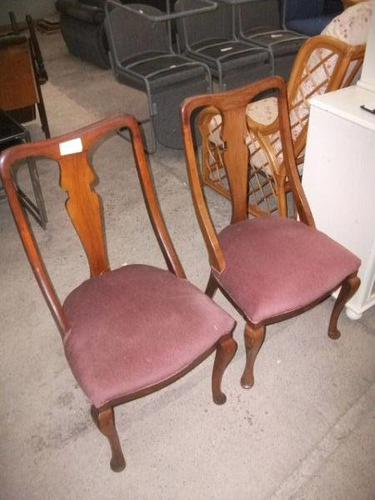 Pair Spoon Back Dining Chairs (1 of 2)