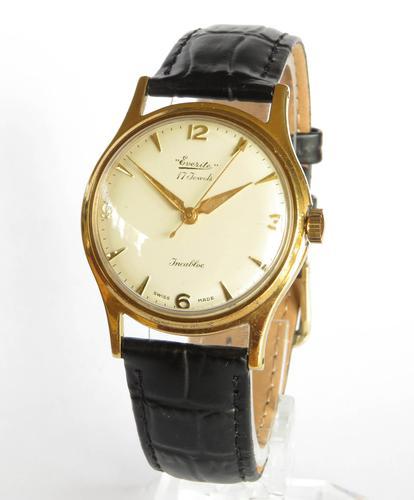 Gents 1960s Everite Wrist Watch (1 of 5)