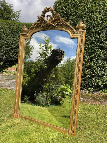 19th Century French Gilt Mirror in Louis XVI Style (1 of 5)