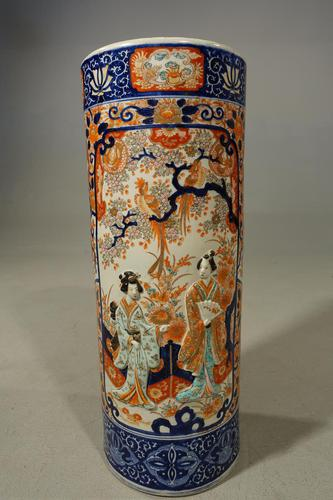 Exceptionally Good Late 19th Century Imari Stick Stand (1 of 5)