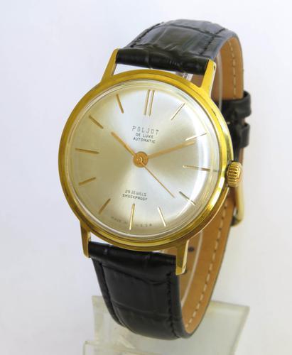 Gents Poljot De Luxe Automatic Wrist Watch (1 of 5)