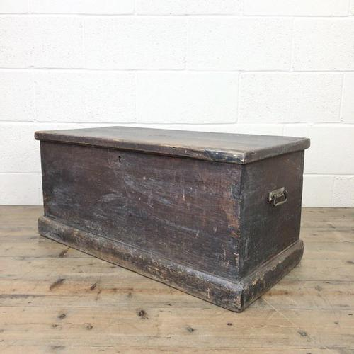 Rustic Antique Wooden Trunk (1 of 8)
