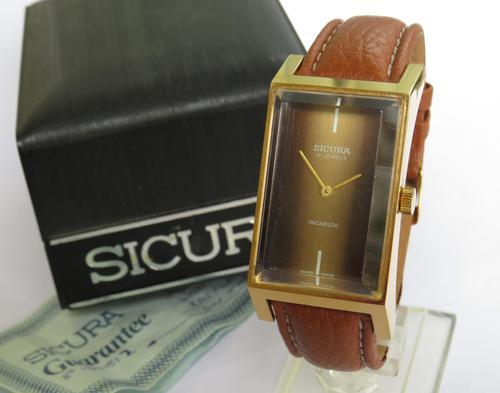 Gents Sicura Wrist Watch 1978 (1 of 4)