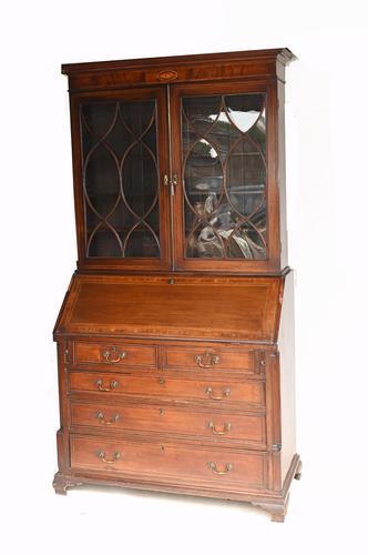 George III Bureau Bookcase Antique 1790 Desk (1 of 14)