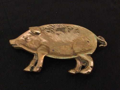 William Tonks Brass Pig (1 of 2)