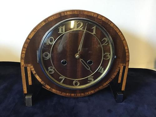 Clocks Mantle Art Deco (1 of 3)