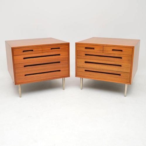 1960's Pair of Vintage Mahogany Chests by Edward Wormley for Dunbar (1 of 12)