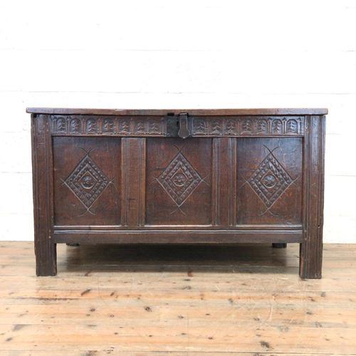 18th Century Oak Blanket Box (1 of 14)