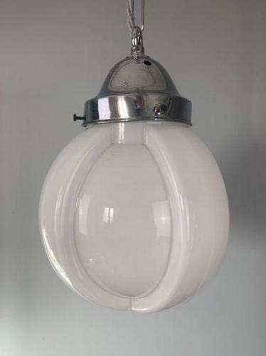 Art Deco Ceiling Light, Original Shade, Rewired (1 of 6)