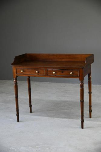 Victorian Mahogany Console Table / Washstand (1 of 9)