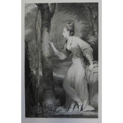 Mrs Lloyd 'Lily Bart' After Sir Joshua Reynolds - Antique Art c.1775 (1 of 1)