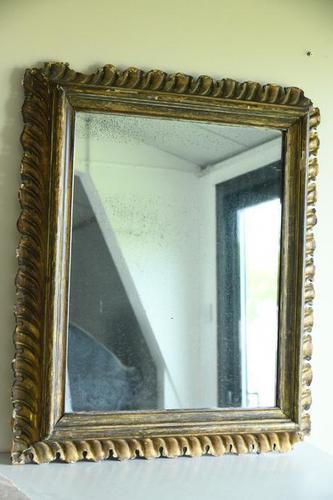 Antique Continental Gilt Mirror (1 of 12)