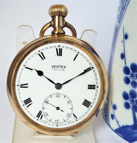 Vintage 1930s Vertex Pocket Watch (1 of 5)