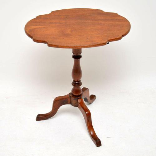 Antique Mahogany Tilt Top  Table (1 of 6)