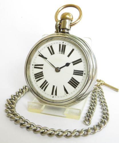 Antique Waltham Pocket Watch & Chain (1 of 4)