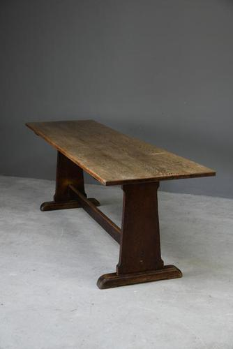 Early 20th Century Oak Refectory Table (1 of 10)