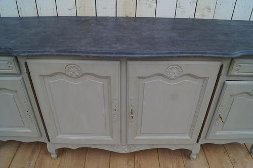 Painted Grey Enfilade (1 of 8)