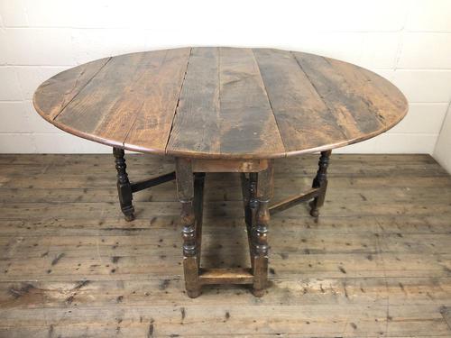 18th Century Oak Gateleg Table (1 of 10)