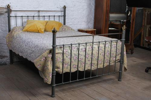 Handsome Classic Edwardian King Size Bed (1 of 7)