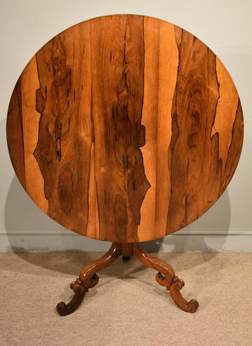Regency Rosewood Breakfast Table (1 of 7)