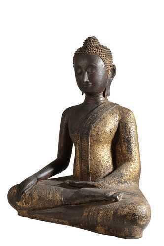 Large Bronze Bhudda, Thailand, 18th / 19th Century (1 of 4)