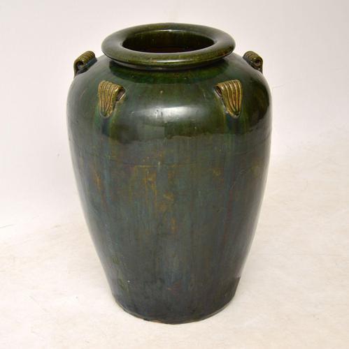 1960's Vintage Large  Ceramic Earthenware Vase (1 of 6)