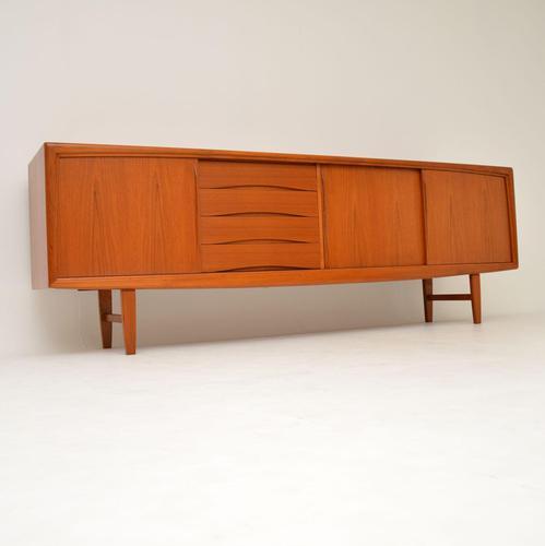 1960's Danish Teak Vintage Sideboard by Gunni Omann (1 of 14)