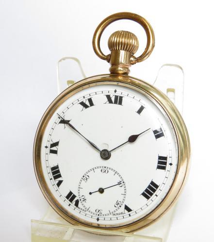 Antique Swiss Pocket Watch, 1920s (1 of 5)