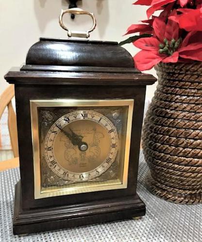 Outstanding-Quality English Bracket Clock by F.W. Elliott, Signed by Royal Retailer Garrard & Co Ltd. (1 of 6)