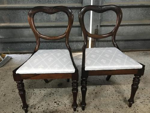 Pair of Beautiful Victorian  Rosewood Chairs (1 of 7)