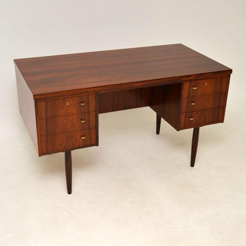 1960's Danish Vintage Rosewood Desk (1 of 14)